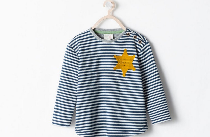 Zara apologizes for 'concentration camp'