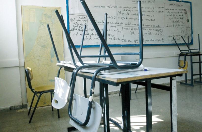 Classroom (illustrative). (photo credit: MARC ISRAEL SELLEM/THE JERUSALEM POST)