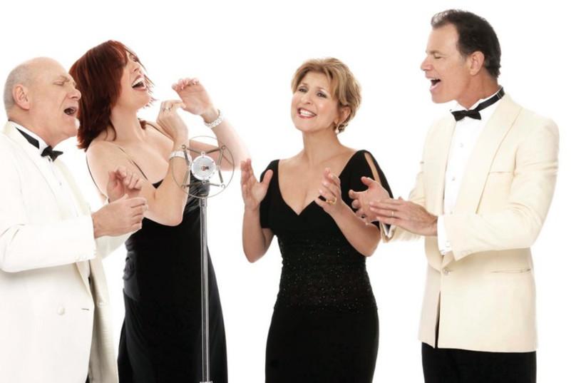 The vocal quartet Manhattan Transfer (photo credit: Courtesy)