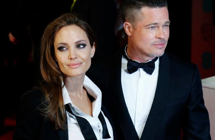 Angelina Jolie and Brad Pitt (photo credit: REUTERS)