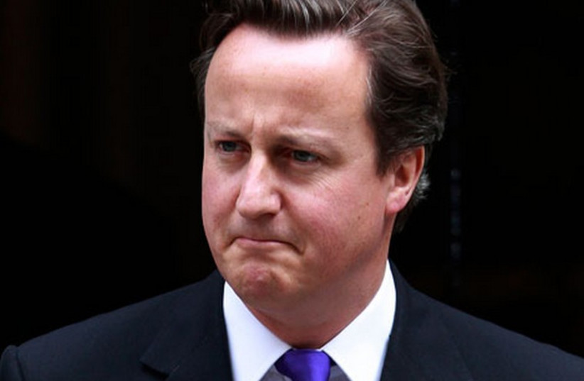 British Prime Minister David Cameron. (photo credit: REUTERS)