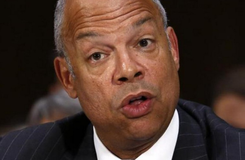 US Homeland Security Secretary Jeh Johnson. (photo credit: REUTERS)