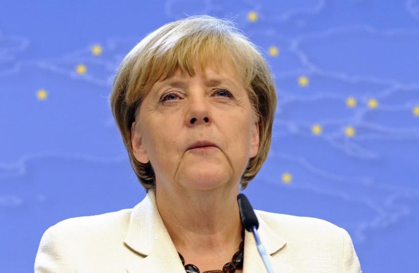 Angela Merkel (photo credit: REUTERS)