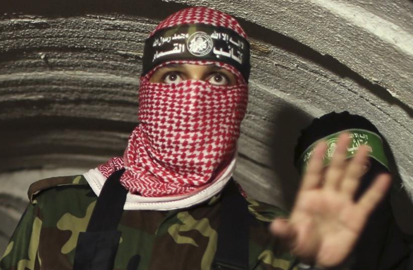 Hamas militants (photo credit: REUTERS)