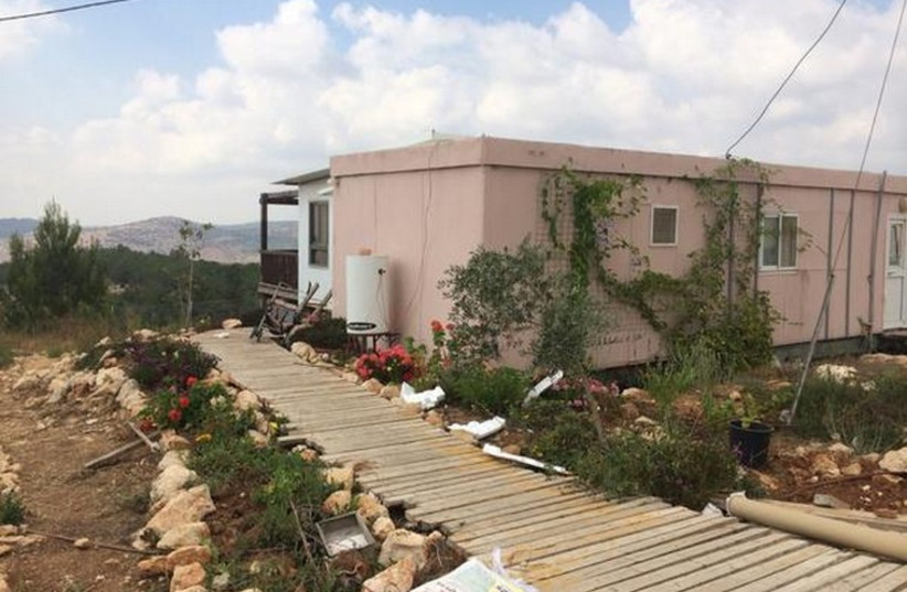 GEVAOT in the West Bank where Israel wants to build a fifth West Bank city (photo credit: TOVAH LAZAROFF)