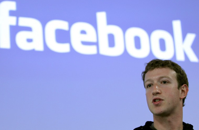 Mark Zuckerberg (photo credit: REUTERS)