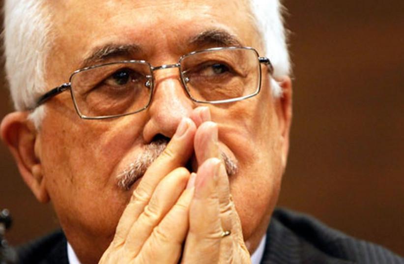 PA President Mahmoud Abbas (photo credit: REUTERS)
