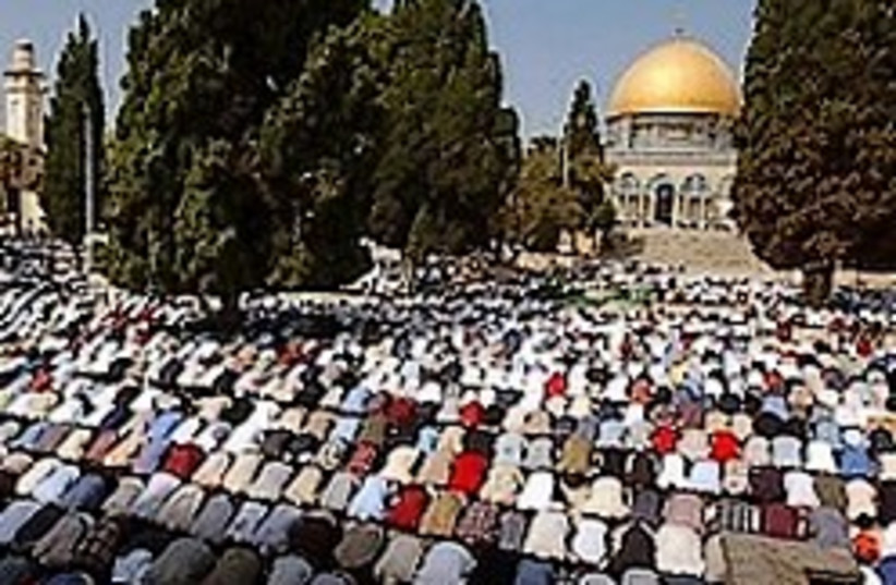 Muslims Temple Mount 224.88 (photo credit: )