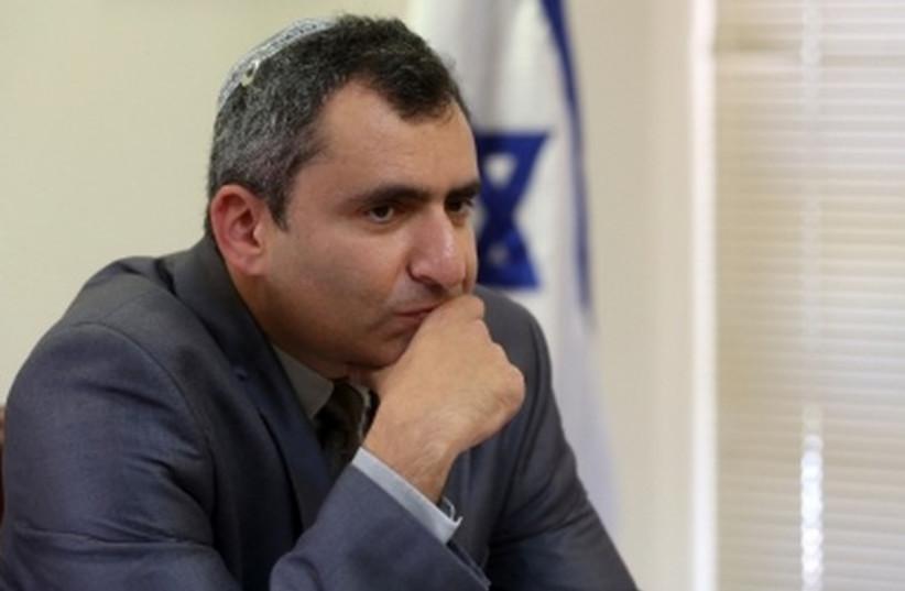 Ze'ev Elkin (photo credit: MARC ISRAEL SELLEM/THE JERUSALEM POST)