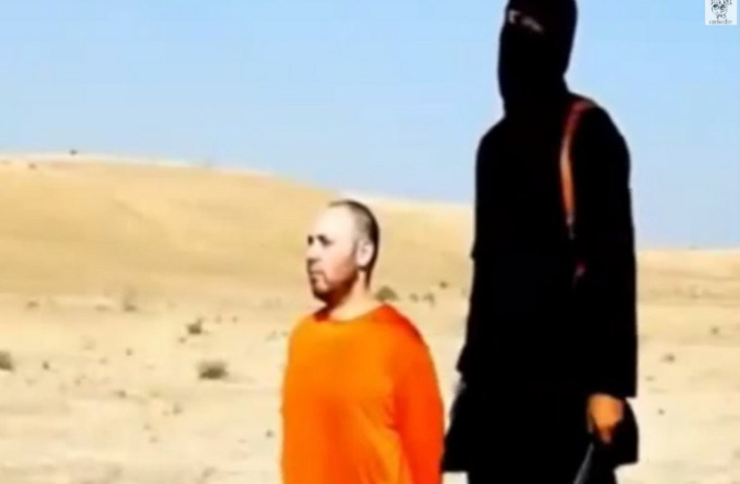 Steven Sotloff beheading (photo credit: screenshot)