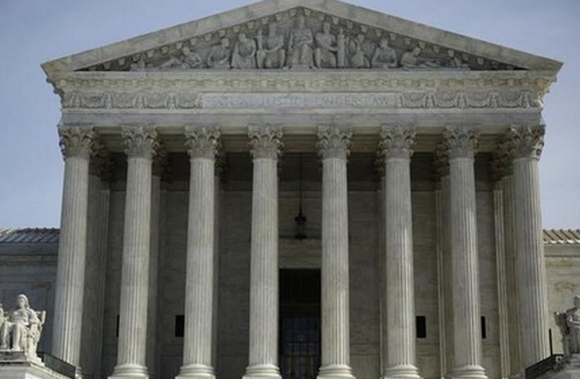 US Supreme Court (photo credit: REUTERS)