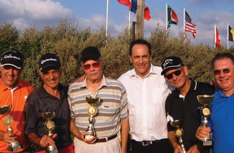Ga'ash tournament winners 2014  (photo credit: PR)