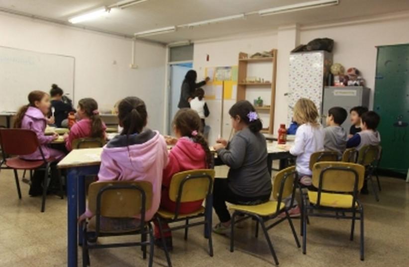 Classroom in Israel. [File] (photo credit: MARC ISRAEL SELLEM/THE JERUSALEM POST)
