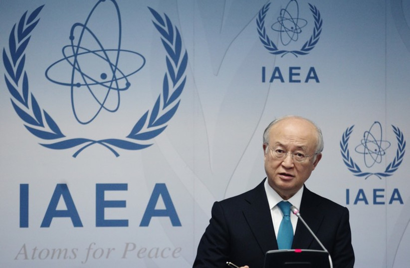 International Atomic Energy Agency (IAEA) Director General Yukiya Amano  (photo credit: REUTERS)
