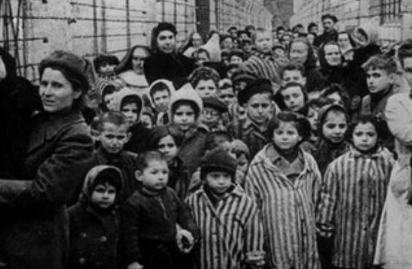 Child Holocaust survivors (photo credit: REUTERS)