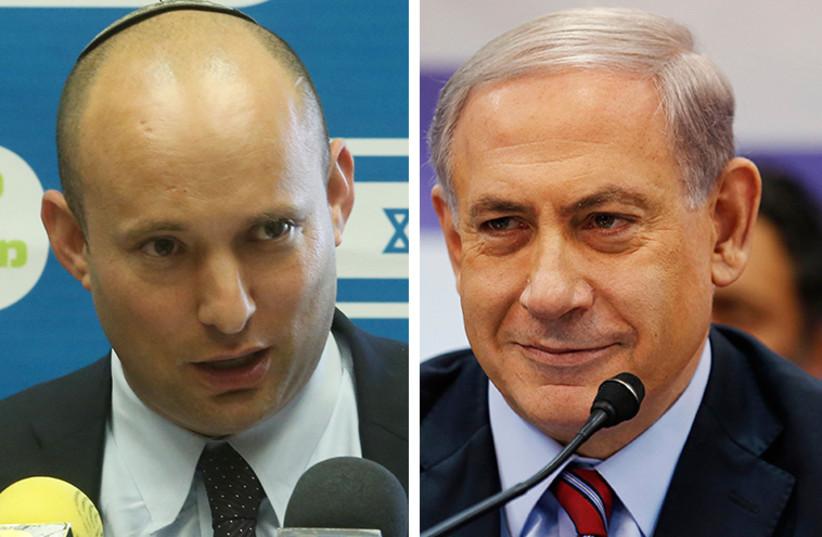 Netanyahu and Bennett (photo credit: REUTERS,MARC ISRAEL SELLEM/THE JERUSALEM POST)