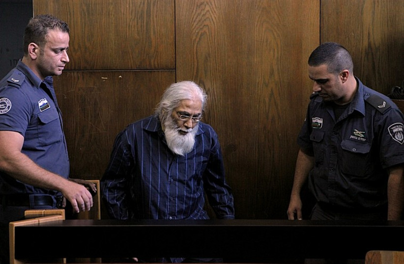 Goel Ratzon in Court (photo credit: DROR EINAV)