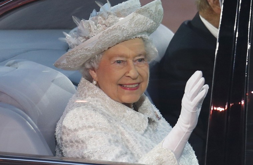 Queen Elizabeth (photo credit: REUTERS)