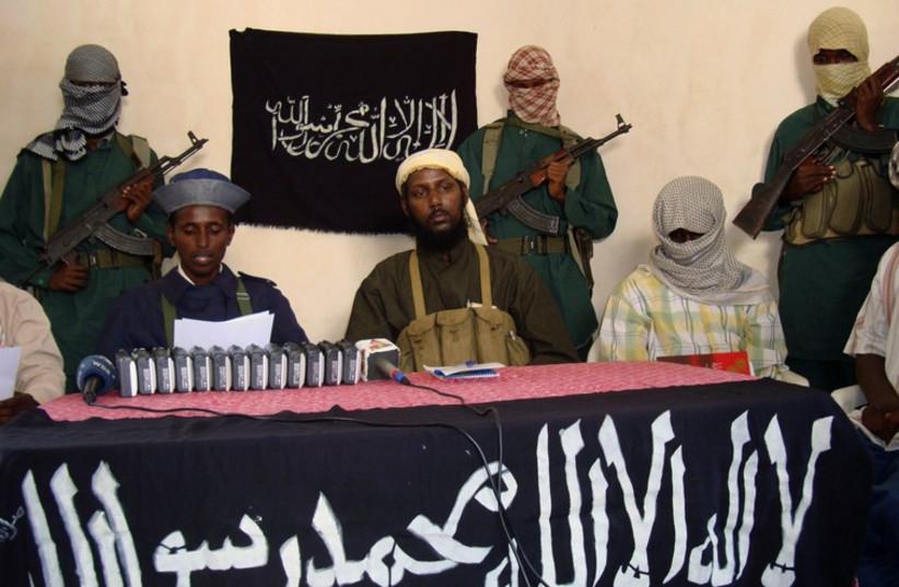 Al-Shabab militants (photo credit: REUTERS)