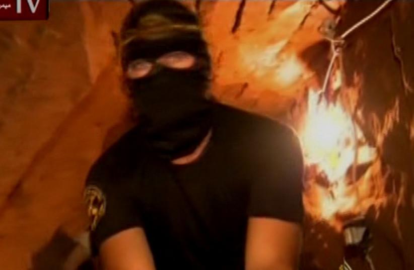 Islamic Jihad digging new tunnels in Gaza (photo credit: screenshot)