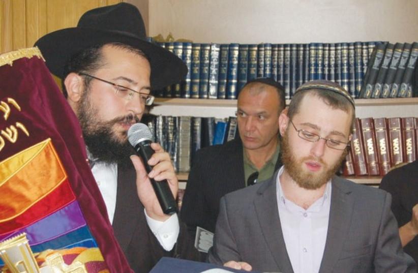 RABBI MENDEL COHEN (left) (photo credit: PR)