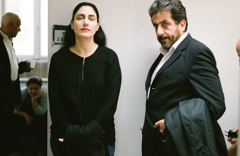 A still from the film 'Gett,' which examines Jewish divorce laws (photo credit: PR)