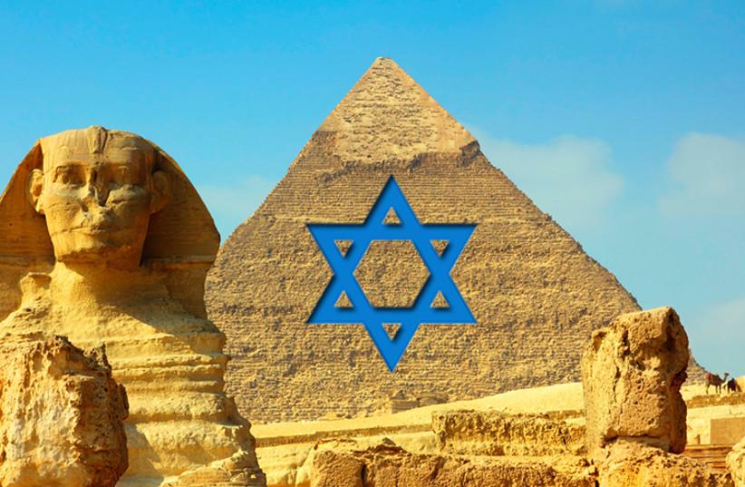 Pyramids in Giza (photo credit: INGIMAGE)
