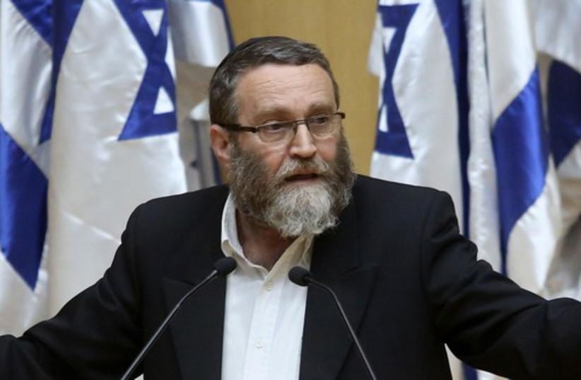 Moshe Gafni (photo credit: MARC ISRAEL SELLEM/THE JERUSALEM POST)