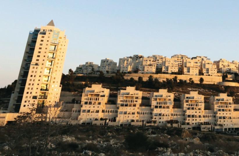 Har Homa in Jerusalem (photo credit: REUTERS)