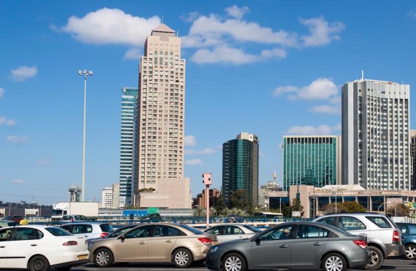Tel Aviv traffic. (photo credit: INIMAGE)