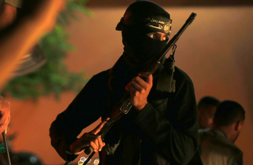 Hamas Operative (photo credit: REUTERS)