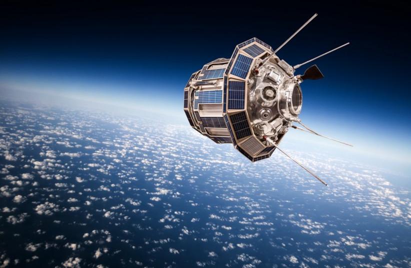 A satellite (photo credit: INGIMAGE)