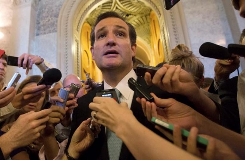Texas Sen. Ted Cruz (photo credit: REUTERS)