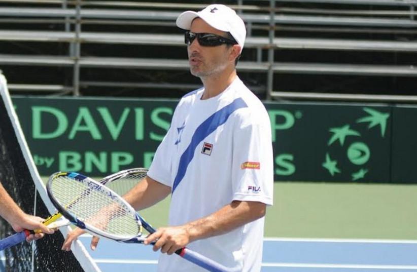 Israel's captain in the Davis Cup tournament, Eyal Ran. (photo credit: ISRAEL TENNIS ASSOCIATION)
