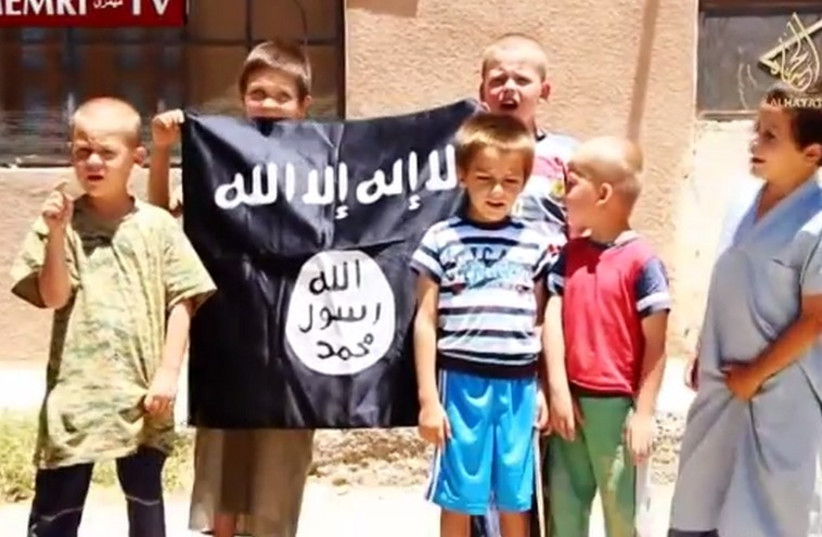 ISIS Footage Shows Bosnian Children in Syria (photo credit: MEMRI)