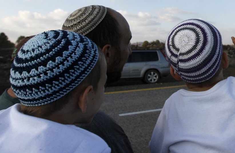 Jewish boys [file] (photo credit: REUTERS)