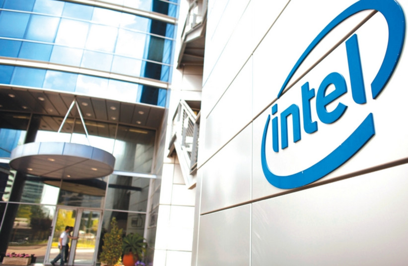 Intel's offices in Petah Tikva: Intel Israel accounts for a fifth of the country's high-tech exports. (photo credit: REUTERS)