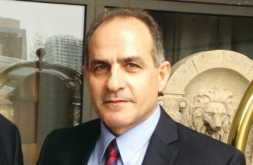 Sherkoh Abbas, the president of the Kurdistan National Assembly of Syria, (photo credit: Courtesy)