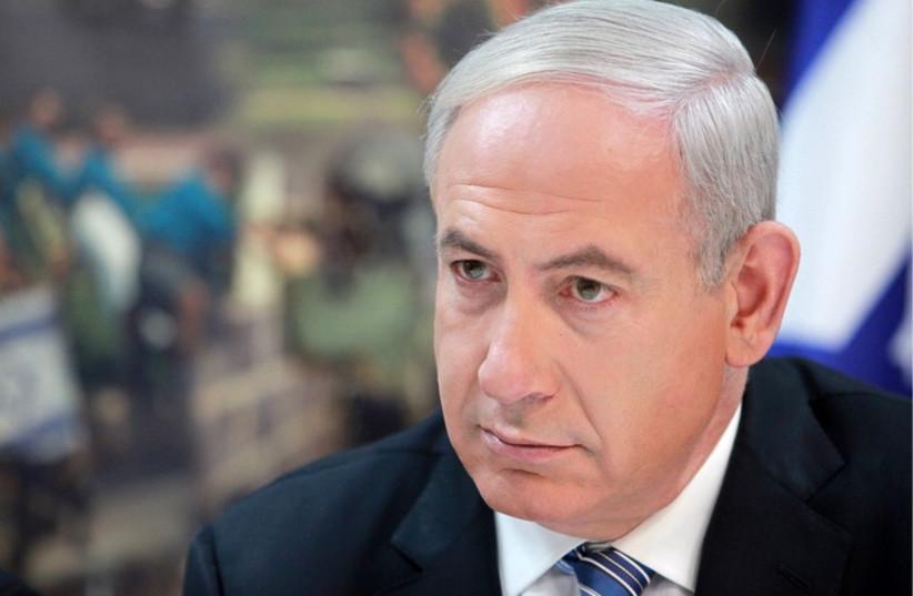 Pas de trêve pour Bibi (photo credit: MARC ISRAEL SELLEM)