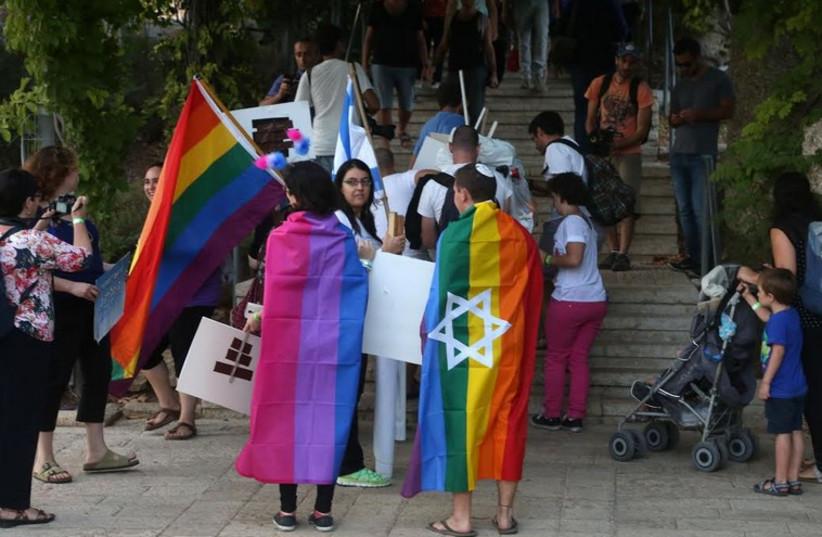 2014 Jerusalem Gay Pride Parade (photo credit: MARC ISRAEL SELLEM/THE JERUSALEM POST)