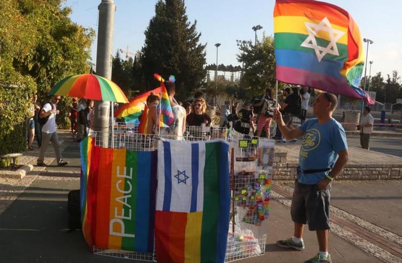 Jerusalem's 2014 Gay Pride Parade. (photo credit: MARC ISRAEL SELLEM/THE JERUSALEM POST)