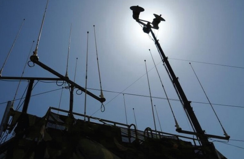 The C4I Branch uses satellite communications to link individual units multiple IDF divisions. (photo credit: IDF SPOKESMAN'S UNIT)
