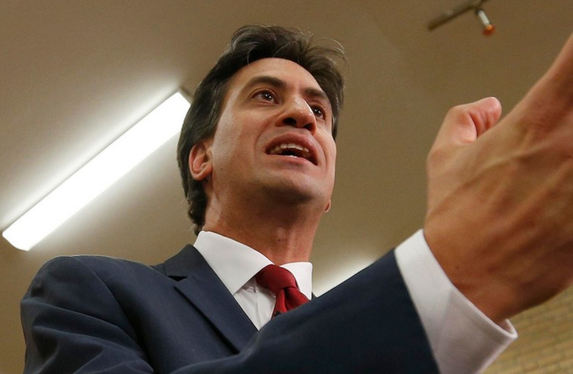 Ed Miliband (photo credit: REUTERS)