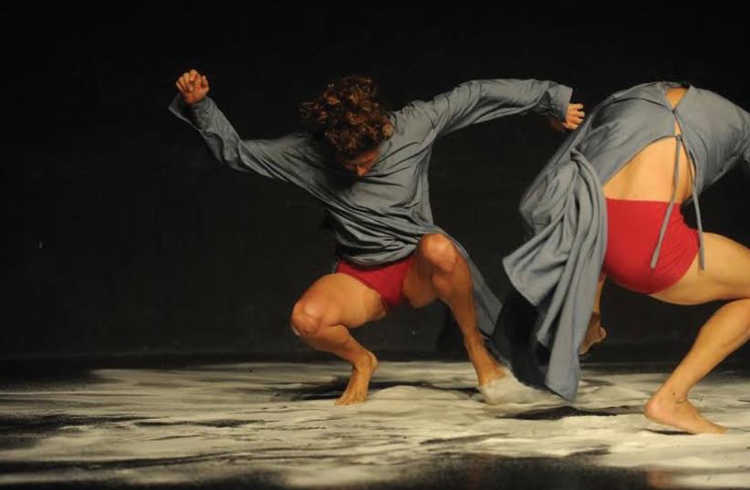 'SALT' – CREATED and performed by Takanori Kawaharda and Shani Ben-Haim. (photo credit: GADI DAGON)
