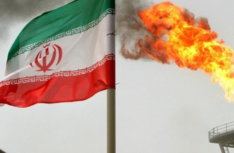 Iranian flag (photo credit: REUTERS)