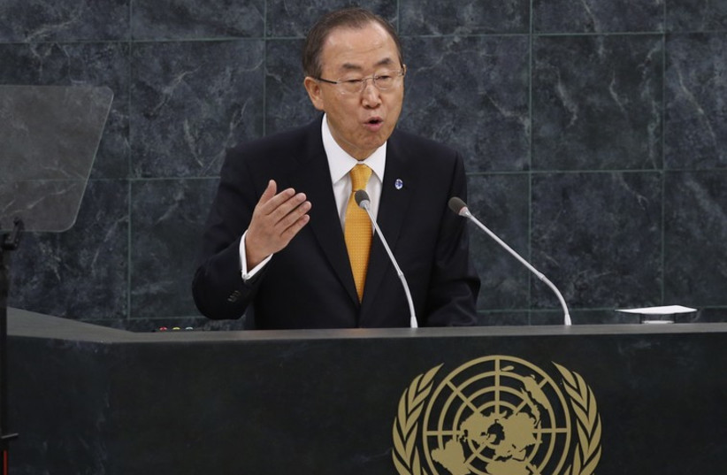 U.N. Secretary-General Ban Ki-moon  (photo credit: REUTERS)