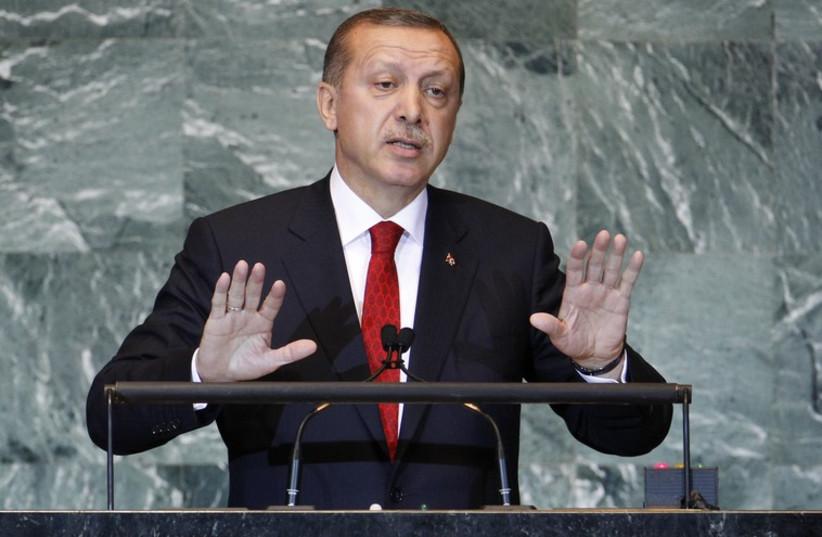 Turkey President Recep Tayyip erdogan (photo credit: REUTERS)