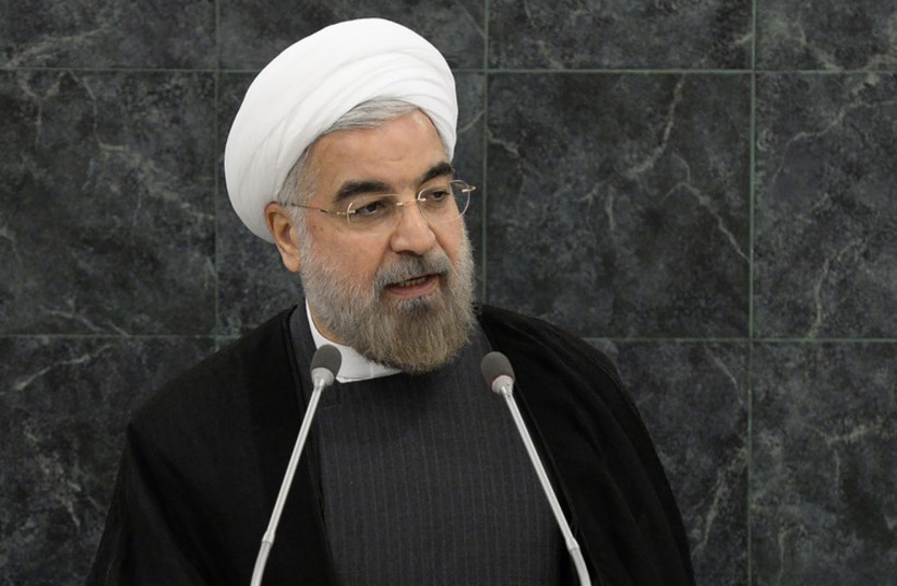 Iran's President Hassan Rouhani  (photo credit: REUTERS)