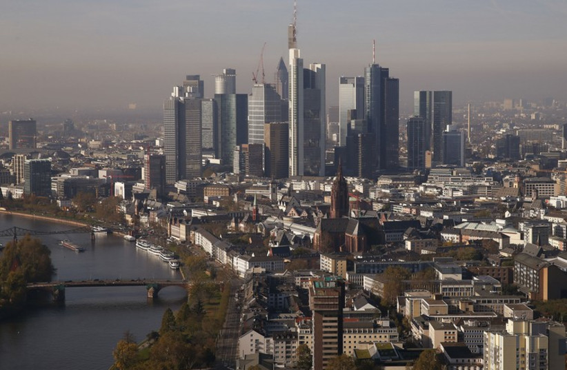 The Frankfurt skyline (photo credit: REUTERS)