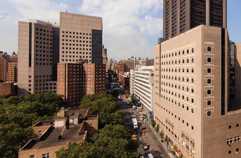 Mount Sinai hospital campus in Manhattan. (photo credit: Courtesy)